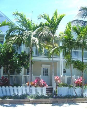 Hawks Cay Resort: the vacation villas- ours is the yellow one
