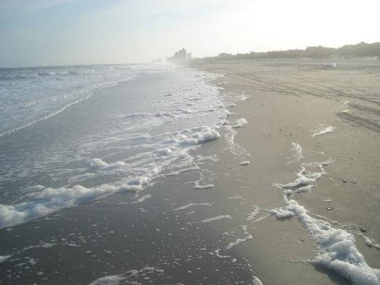 Myrtle Beach Sc There Was So Much Sea Foam It Looked Like Someone Had