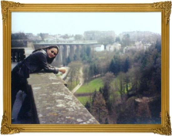 Petrusse Casemates : Luxembourg City, Luxembourg - 2001: I fell in love with this place because of its fantastic view