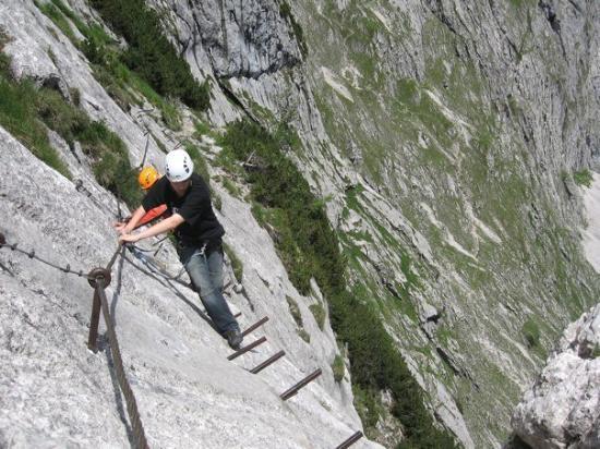 Klettersteig Near Munich : Klettersteig zur zugspitze picture of garmisch