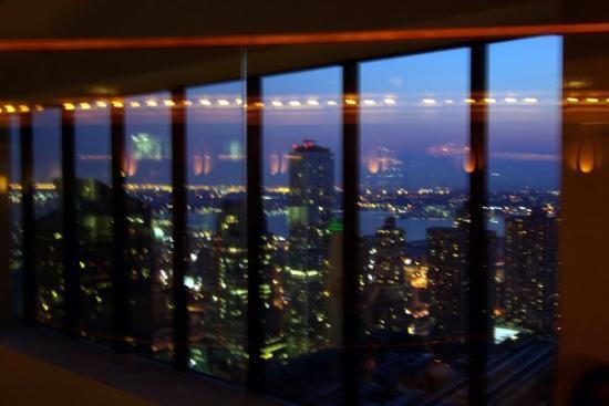 The View Restaurant Lounge Vue Du Bar Tournant Au Sommet