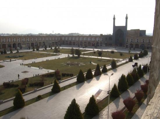 Naqshe Jahan Square(Shah Square): Isfaha. Plaza del Imam