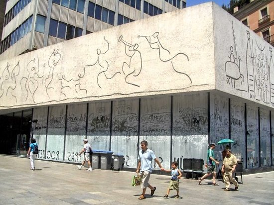 ‪College of Architects of Catalonia, Picasso Wall‬