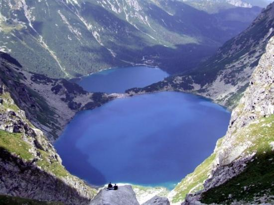 Tatra National Park, Polen: Morskie Oko, Czarny Staw