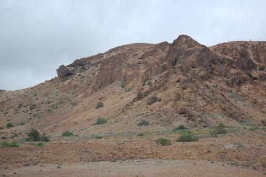 Ali Sabieh, Djibouti: Note the caves.