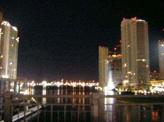 Miami Beach Fl Por La Noche