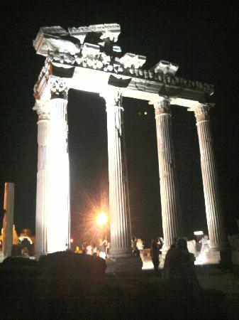 Grand Seker : colonne de side