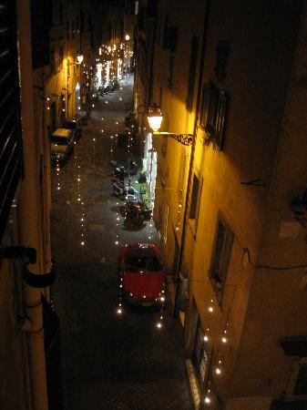 Hotel Pomezia: The view out of our window