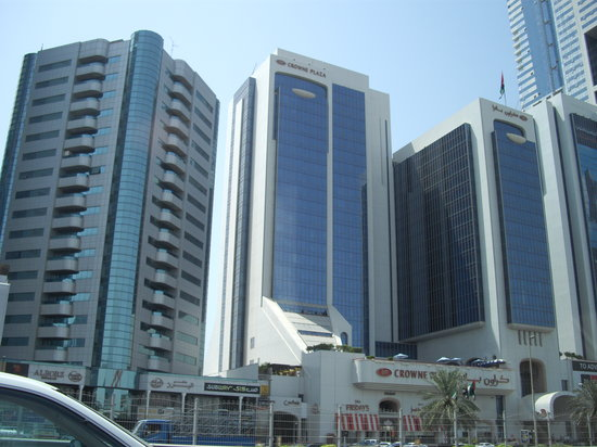 Crowne Plaza Dubai: CROWNE PLAZA HOTEL