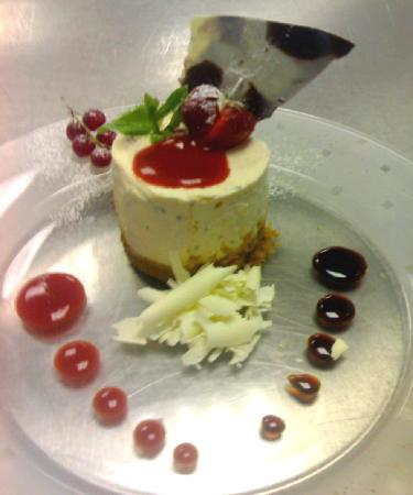 The Wheatley Arms: cheesecake