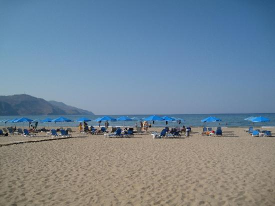 Blue Beach Villas & Apartments: georgiopuli beach (30km from Chania toward Rethymno)