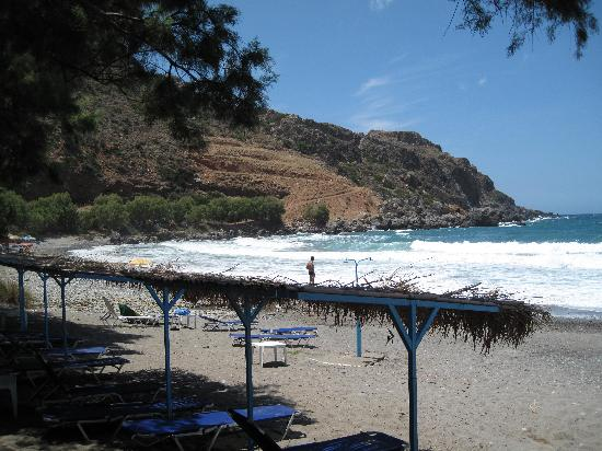 Stavros, Greece: Sfinari beach (western coast)