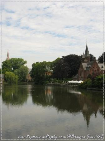 Minnewater Lake: Another view of Minnewater