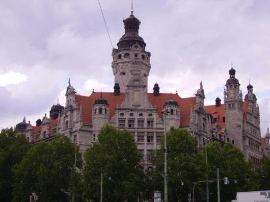 The New Town Hall The Old One Was To Small Picture Of Leipzig Saxony Tripadvisor