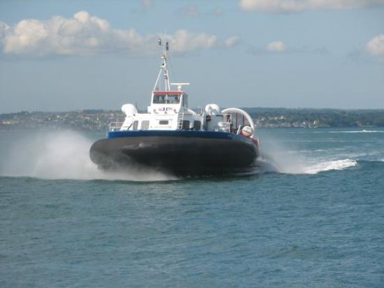 Wyspa Wight, UK: Hovercraft