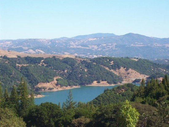 Хилдсбург, Калифорния: Lake Sonoma--it's beautiful AND near Napa Valley!