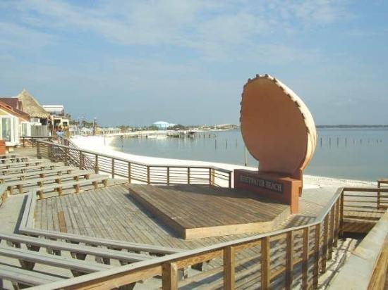 Panama City Beach Fl Amphitheater At Ping Area Pensacola On Santa Rosa
