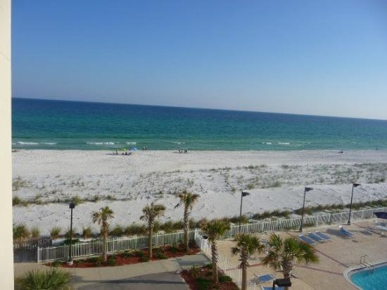 Pensacola Beach: View from our balcony