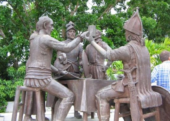 Blood Compact Monument: Bohol, Philippines