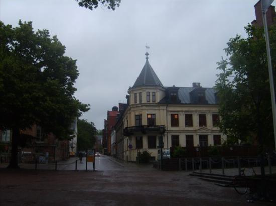 Lund, Sweden: a change in the weather
