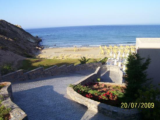 Sentido Mikri Poli Crete: la vista dalla stanza