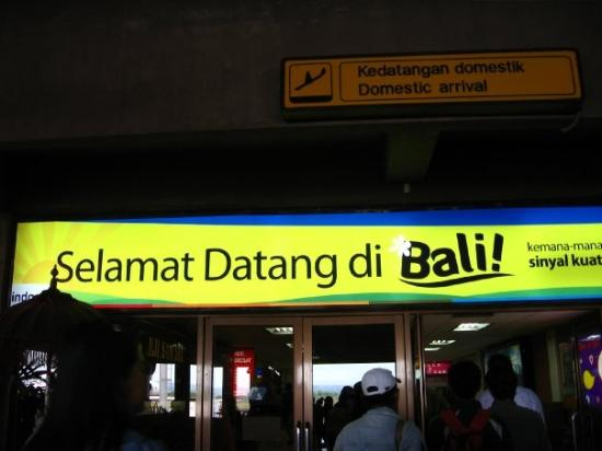 Selamat Datang di Bali