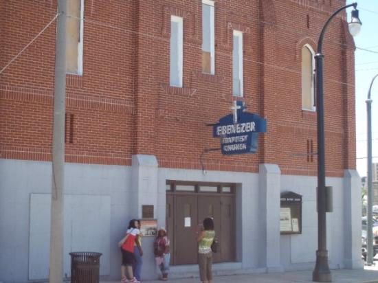 Ebenezer Baptist Church of Atlanta : Atlanta, Géorgie, États-Unis
