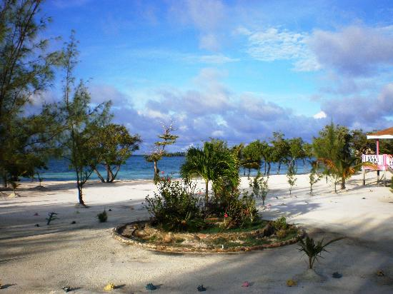 "Coco Plum Island Resort: The view of our ""front yard"""