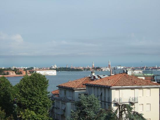Villa Delle Palme: la vue depuis la terrasse