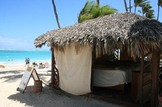 Punta Cana, Dominikanska Republiken: un petit massage sur la plage?