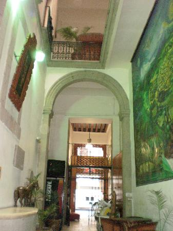 Mexico City Hostel: Main hall