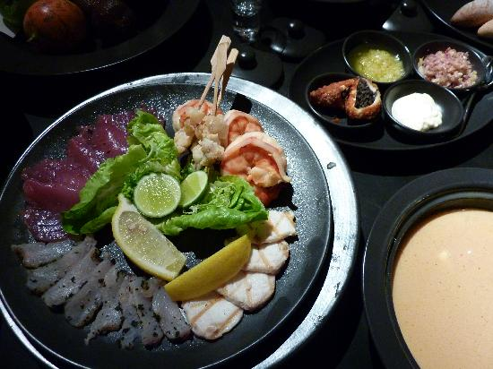 Alila Villas Uluwatu: Seafood platter