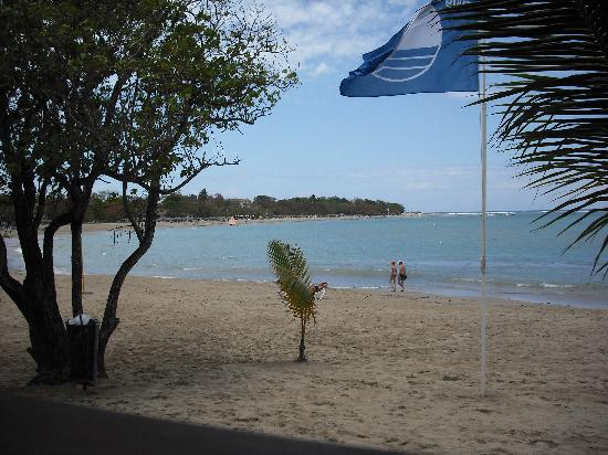 Occidental Caribbean Village Playa Dorada: View from al inclusive beach restaurant