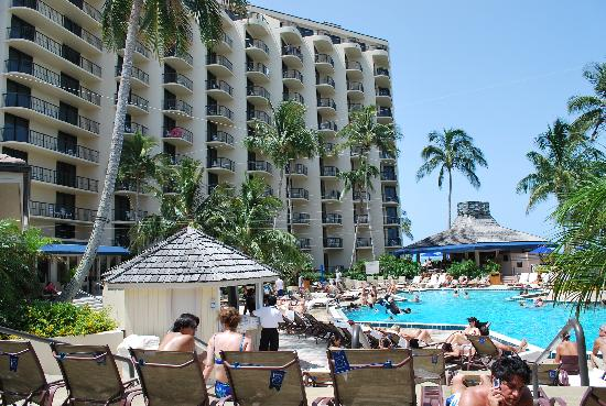 The Pool Side Of The Hotel Picture Of Hilton Marco Island Beach