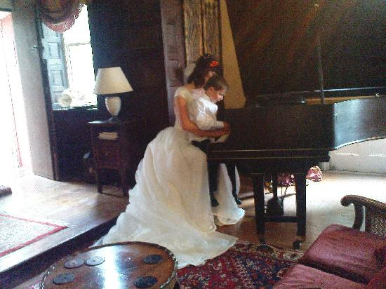 Augill Castle: The Music/Ceremony Room
