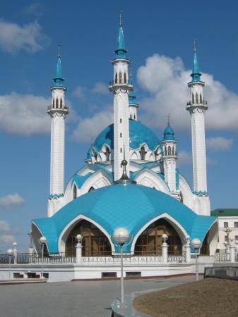 Kazán, Rusia: Mosque Kul Sharif, Kazan