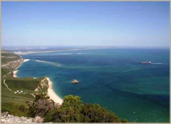 "Arrabida Natural Park: the beautiful bay of ""Portinho da Arrabida"""