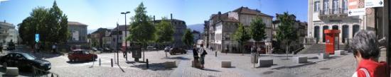 Chaves, Portugal: Na baixa da cidade