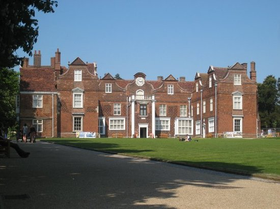 Ипсуич, UK: Christchurch Mansion IPSWICH Suffolk, UK