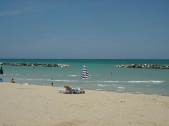 Cupra Marittima, Italia: vlny....to jsem sama čuměla,když jsem viděla tuhle fotku :))