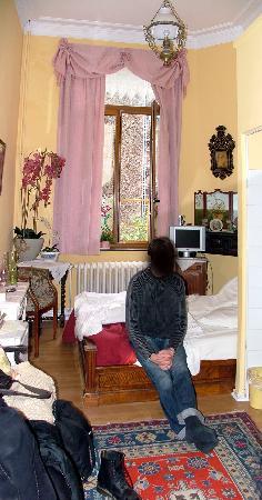 Hotel Les Bluets: La chambre
