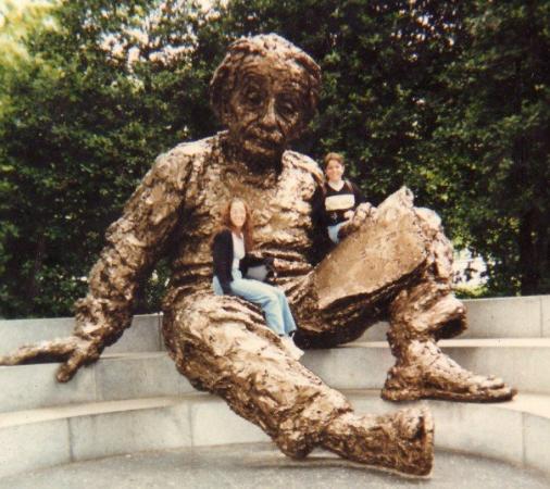 Image result for einstein statue