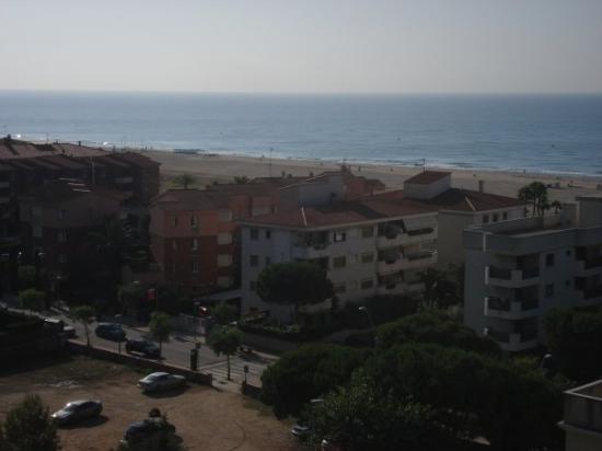 Coma Ruga, สเปน: vue depuis la chambre