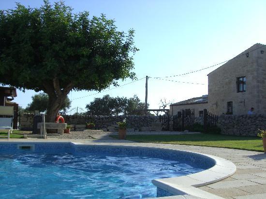 La Muraglia: la piscina