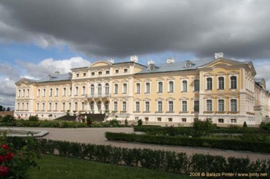 Bauska, Lettonie : Rundale