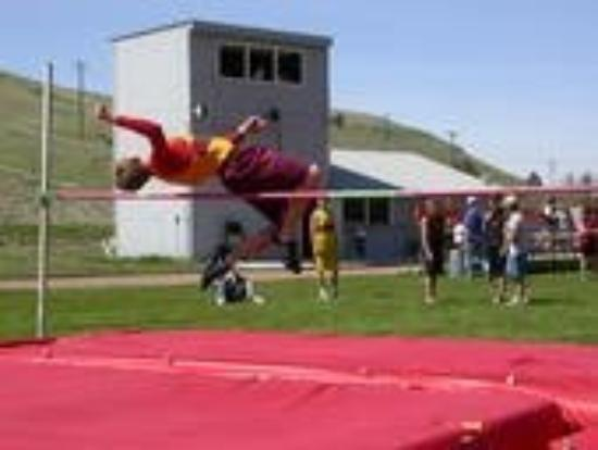 Belt, MT: High jump