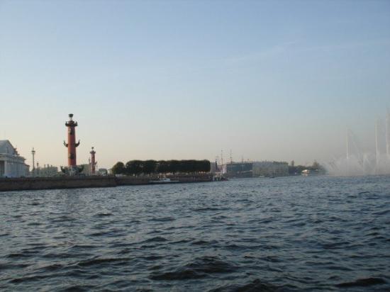 Military Historical Artillery Museum: Boat trip at Neva River, St. Petersburg September 2006