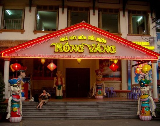 Ho Chi Minh City, Vietnam: the water puppet theatre
