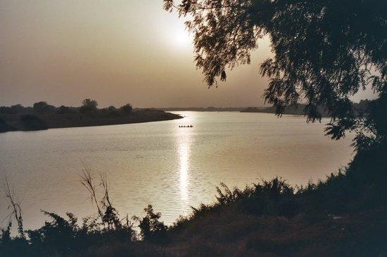N'Djamena, Chad: Chari River, Tchad