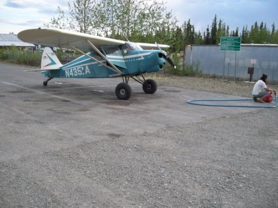 Tok, AK: We had to stop and fill up on gas